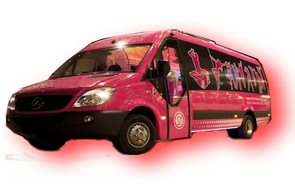 Limobus and discobus rental Madrid